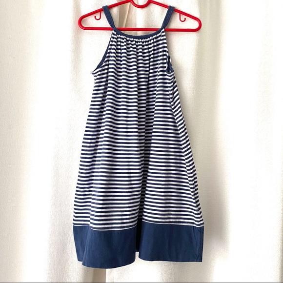 GAP Other - Baby Gap Navy Stripe Swing Dress Cotton Knit 5T